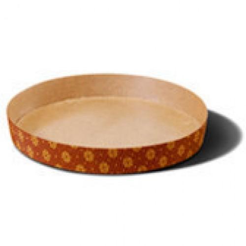 Круглая форма для пирогов (гофрированная бумага), 155х35
